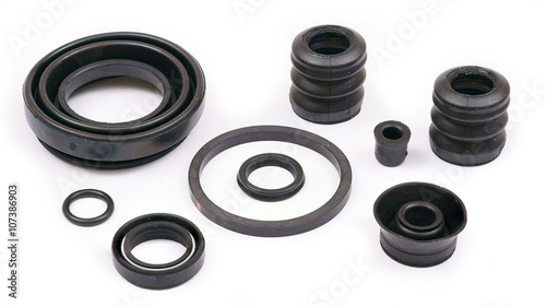 Fotografía  Cuffs Rubber rings for cars