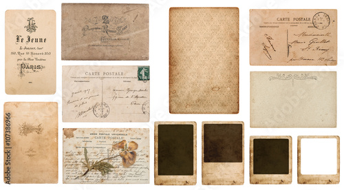 Photo  antique french carte de visite. vintage business card