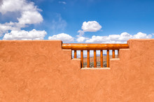 American Southwest Arizona Style Adobe Wall Frames A Desert View