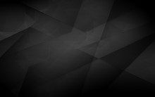 Dark Abstract Polygonal Backgr...