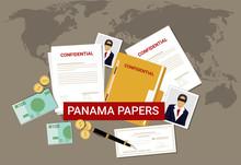 Panama Papers Leaked Document Money Laundering Crime