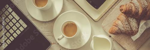 Fotografie, Obraz  Business coffee break concept