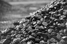 Heap Of Coal. A Place, Where C...