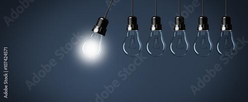 Obraz Lampen / Konzept / Pendel - fototapety do salonu