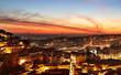 Lisbon colorful cityscape, Portugal
