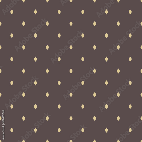 Keuken foto achterwand Leder Seamless geometric modern vector pattern. Fine ornament with golden elements