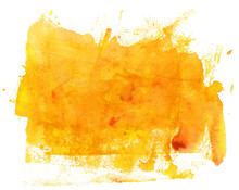 Abstract Artistic Bright Yello...