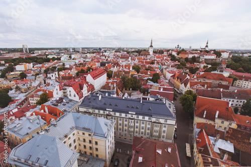 Staande foto Stockholm panorama of Tallinn, Estonia
