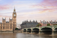 London Beautiful View, UK, Big...