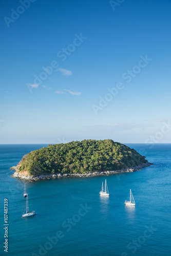 Staande foto Eiland Tropical island