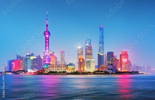 Obraz Shanghai - fototapety do salonu