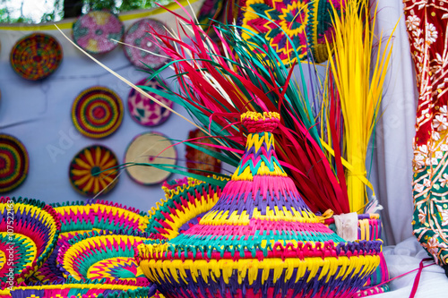 Colorful Handicrafts From Pakistan Buy This Stock Photo And