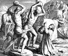 The Stoning Of Stephen 1) Sacred-biblical History Of The Old And New Testament. Two Hundred And Forty Images Ed. 3. St. Petersburg, 2) 1873. 3) Russia 4) Julius Schnorr Von Carolsfeld