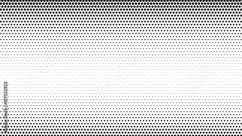 Abstract halftone dots background Canvas Print