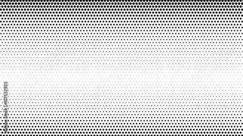 Obraz na płótnie Streszczenie półtonów kropkuje tło
