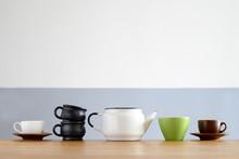 Coffee Dishware Concept