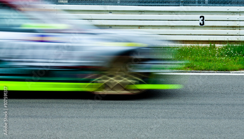 Staande foto Motorsport Rennwagen