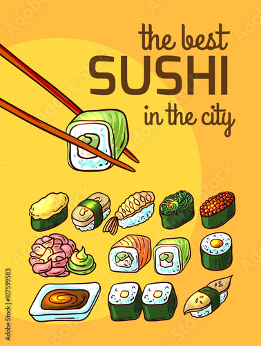 the best sushi - 107599583