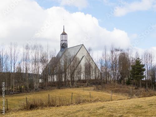 Photo  Lommedalen Church in Norway