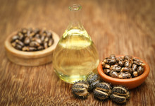 Castor Beans And Oil