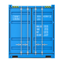 Cargo Container Texture, Front...