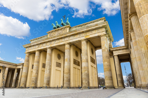 Poster Berlin Brandenburg Gate (Brandenburger Tor), Berlin