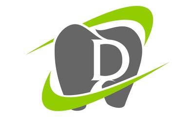 Fototapeta Healthy Dental Care Letter D