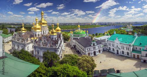 Staande foto Kiev Spring Monastery in Kiev