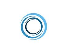 Swoosh Circle Blue, Whirlpool Logo