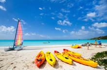 Beautiful Tropical Beach At Ex...