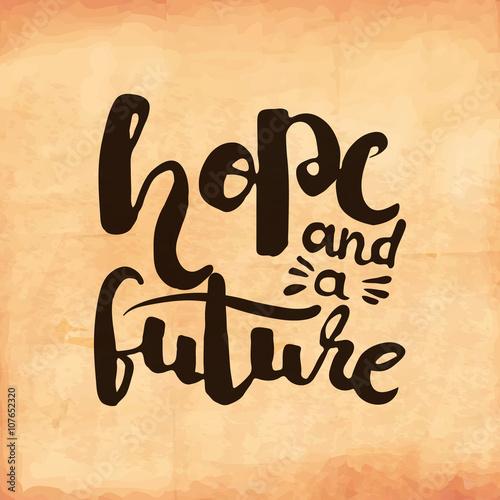 motywacyjny-retro-plakat-na-starym-zuzytym-papierze-o-nadziei-na-przyszlosc