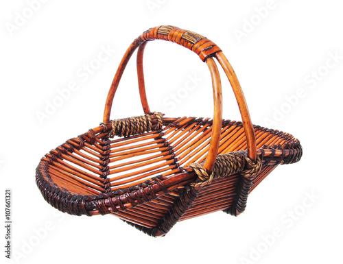 Ingelijste posters Picknick Empty basket