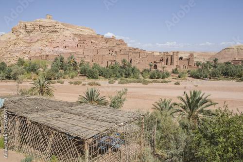 Spoed Foto op Canvas Marokko Ben Haddou landscape, Morocco