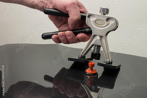 Fotografie, Obraz  dellen lifter smart repair