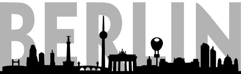 FototapetaSkyline Berlin