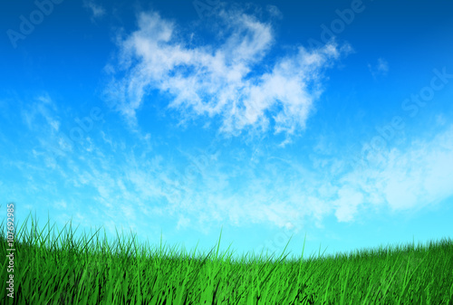 Spoed Foto op Canvas Turkoois bright natural background, sunny day