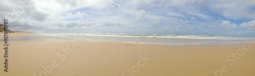 plage de biscarrosse, dans les landes en france