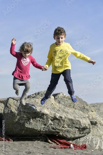 Fotografia, Obraz  fratello e sorella