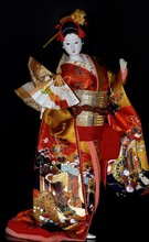 Doll In The Japanese National Dress