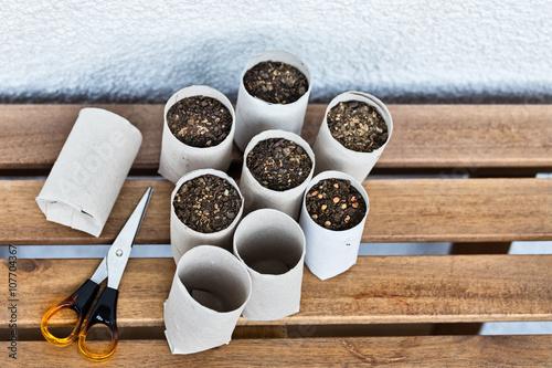 Upcycling indoor gardening