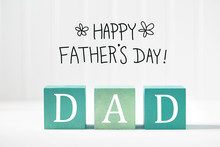 Fathers Day Message With Woode...