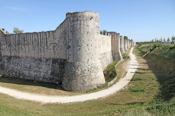 Fototapeta na wymiar France, Seine et Marne, Provins listed as World Heritage by UNESCO