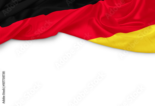 Deutschland Banner Wallpaper Mural