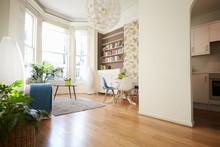 Open Plan Living Area In Moder...