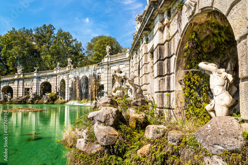 Fontana di Eolo at the Royal Palace of Caserta Poster