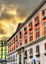 View Of Palazzo Della Prefettura In Naples