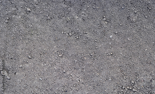 Gray ground surface. Close up natural background Fototapeta