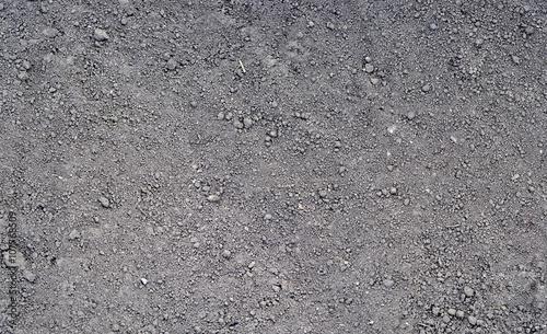 Fototapeta Gray ground surface. Close up natural background