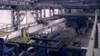 Plant at a heavy industrial factory. HD.