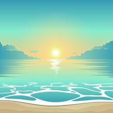 Vector Summer Background Illus...